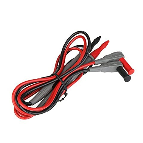 KKmoon original MASTECH 10 de haute qualité un essai sonde plomb 100 cm pour & Pince multimètre numérique DMM Testeur M Câble Accessoires t3018