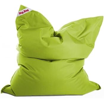 der sitzsack trendy und super bequem sitzsack brava big bag 130x170cm grn amazon kche