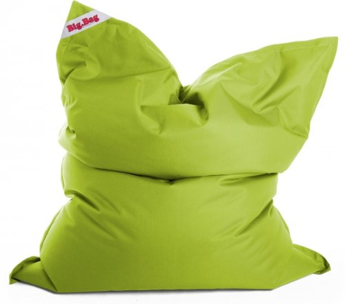 SITTING POINT Sitzsack, Brava Big Bag, Gaming Sitzsack , relaxedgaming, Made in Germany, XL 125x155cm 300l Füllung (Indoor) grün