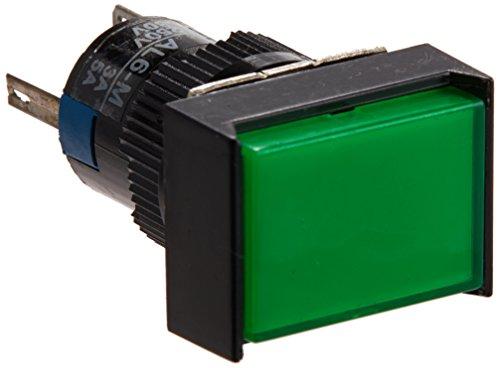 uxcell DC 24V Neon Light Rechteck Momentary Druckschalter -