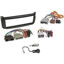 Kit de montaje marco para radio adaptador autorradio 1 DIN Chrysler / Dodge / Jeep