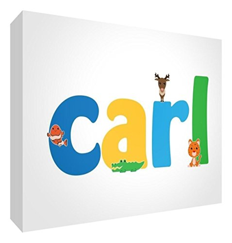 Little Helper de Carl A6BLK 15de Diamant poli Souvenir/, le nom Cute Illustrations et bébé à personnaliser, 10,5 x 15 x 2 cm, moyen