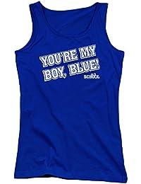 Old School - Junge Frauen mein Jungen-Blau Tank Top