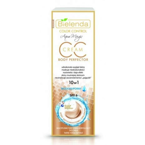 BIELENDA MAGIC CC 10 in 1 Multifunctional Color Correcting Body Cream 175 m, WATERPROOF