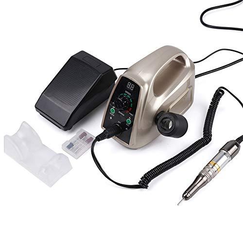 QQNails Stark Elektrisch Nagelfeile Nagelfräser 35000rpm Maniküre Maschine Pediküre Werkzeuge zum Schönheit Salon Nagel Poliermaschine Schleifer Kunst Ausrüstung Mit LCD Bildschirm