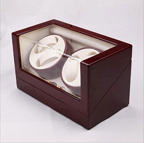 Big seller Uhrenbeweger Automatische Rotary Motor Uhrenbox Zifferblatt Watch Winder Cases 4 Leder Speicher Display Watch Winder Box -