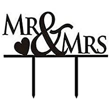 suchergebnis auf f r cake topper mr mrs. Black Bedroom Furniture Sets. Home Design Ideas