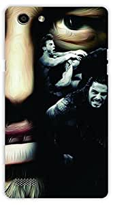 Crazy Beta Roman reigns WWE wrestler superstar Printed mobile back cover case for Oppo Neo 7