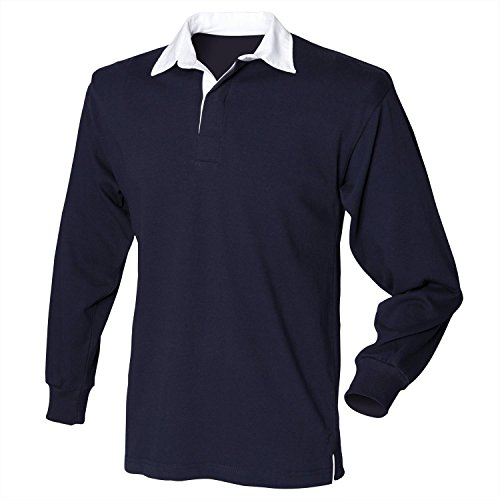 Front Row Long Sleeve Original-Rugby-Hemd Navy