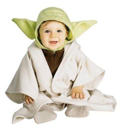 Original Lizenz Star Wars Yoda Kostüm 0 - 6 M, (Kostüme Yoda Kleinkind Für)