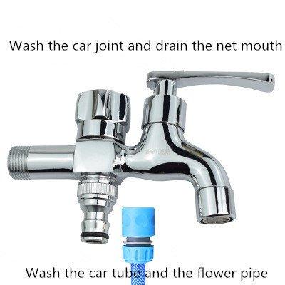 P3-karte (Multifunktionale Waschmaschine Wasserhahn mopp Pool Wasserhahn Voller Kupfer 4/6 Doppel - Kopf - Doppel - Eine Bucht Zwei verkaufsstellen Drei Links und Wasser abzuleiten die ventile.p3)