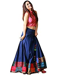 63c7ceceb1f2e1 Amazon.in  Under ₹500 - Lehenga Cholis   Ethnic Wear  Clothing ...