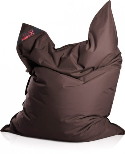 SITTING POINT only by MAGMA Sitzsack Scuba Big Foot 130x170cm braun (Outdoor)