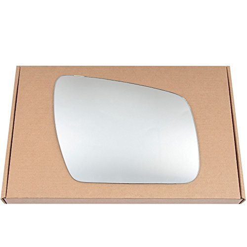 Preisvergleich Produktbild Right driver side Silver Wing mirror glass for Kia Soul 2008-2014