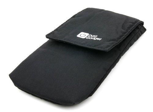 DURAGADGET Handy-Hülle für Archos 50 Oxygen +, 45 / 45c Platinum, 50 / 50b Platinum und 52/53 Platinum Smartphones - SCHWARZ Platinum-berry