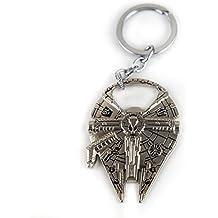 Lzy-tienda Star Wars Watanabe/anillo de Metal llavero abridor (plata) con condicionamientos