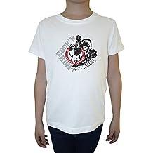 True Guitar Hero Weiß Baumwolle Jungen Kinder T-Shirt Rundhals Kurzarm White Boys Kids T-shirt