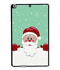 Fuson Designer Back Case Cover for Apple iPad Mini 3 :: Apple iPad Mini 3 Wi-Fi + Cellular (3G/LTE); Apple iPad Mini 3 Wi-Fi (Wi-Fi, W/o GPS) (Stars Dots Snow Flakes Red)