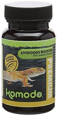 Komodo Premium Live Foods Booster for Leopard Geckos, 75 g from Komodo
