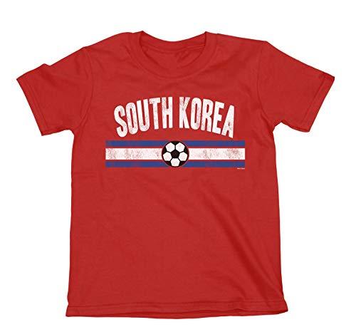 Buzz shirts NIÑOS O NIÑAS South Korea Distressed Country FÚTBOL Camiseta Copa Mundial 2018 Kids Sports...