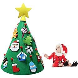DIY Filz Kleinkind Weihnachtsbaum, 70Cm Stereoskopische Neujahr Kinder Geschenke Spielzeug Künstlichen Baum Weihnachten Home Dekoration