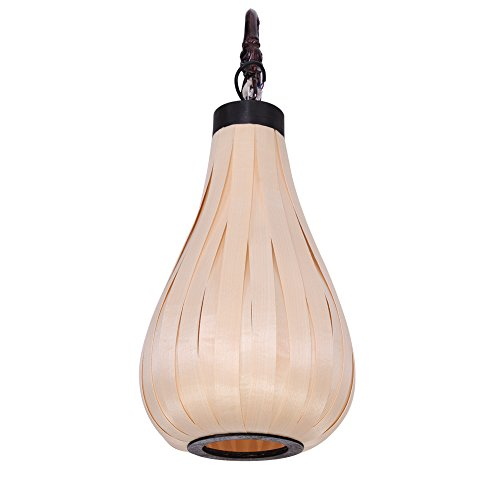 BBSLT Sud-est asiatico impiallacciatura parete lampada parete lampada sul comodino bar Hall camera da letto salotto lampada zucca creativo decorazione 270 * 700mm