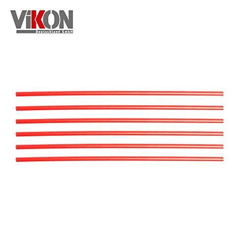 Preisvergleich Produktbild 6 Stück Sprührohr-Verlängerung 100 mm für VIKON Druckluftspray und Schutzwachs-Spray