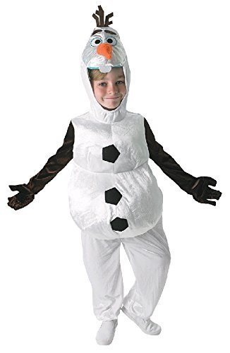 Boys Official Disney OLAF Frozen White Snowman Book Day Week Christmas Fancy Dress Costume Outfit Age 2-6 years (2-3 years) by Fancy (Kostüme Boy Frozen)