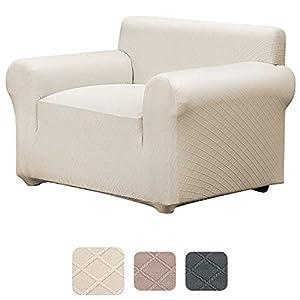 YISUN Sofa Überwürfe, Sofabezüge, Stretch Elastische Sofahusse SofaÜberwürfe Elastischer Antirutsch Ecksofa Sofa bezüge…