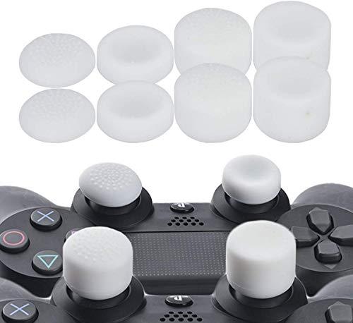 Thumb Grip Daumenstick Joystick Cap Cover für PS2 PS3 PS4 Xbox 360 Xbox One Wii U Controller 8 Stück