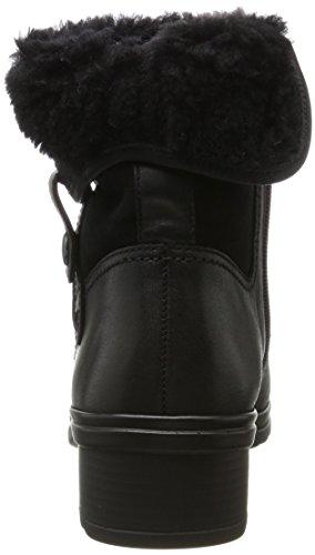 Gabor Comfort Basic, Stivali Donna Nero (57 Schwarz Mel.)