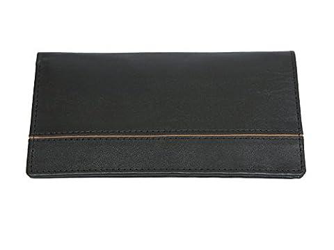 Brand New Men's Black Real Leather Credit Card Holder, ID Holder ,Wallet,Card Case