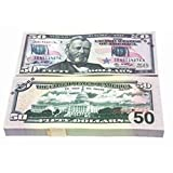 100 Teile/Satz Spezielle Amerikanische Goldfolie Dollar Banknote Gefälschte Geld Kunst Handwerk Hoch Sammlung Kunst Bastelbedarf-Gold