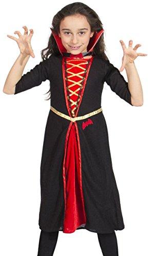 Folat 63220 - Gothic Vampir Kleid (Kostüm Vampir Gothic Girl)