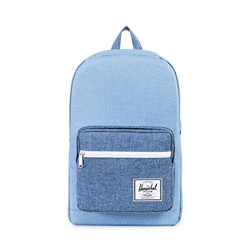 Herschel Supply Company SS16 Casual Daypack, 22 Liters, Limoges Crosshatch/Chambray Crosshatch/Tan
