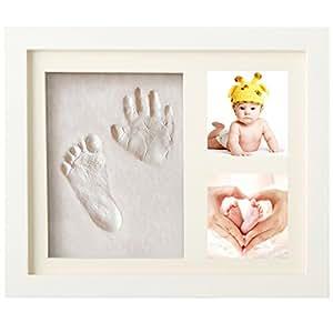 handabdruck baby fu abdruck bilderrahmen baby abdruck. Black Bedroom Furniture Sets. Home Design Ideas