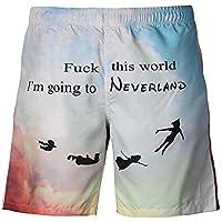 Männer 3D Printing Flying Beach Shorts kreative Druck Jugend Mode Shorts europäischen Größe S-4xl