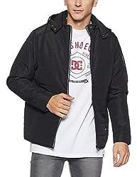 Monte Carlo Mens Cotton Jacket (217039593-1_Black_40)