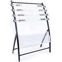 Cablematic - Soporte de revistas y periódicos 330x600x850mm