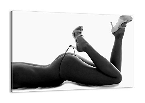 Impression sur Toile - Un élément - 120x80cm - Image sur Toile - 0105 - prete a Suspendre - encadrée - Tableaux pour la Mur - Motif Moderne - Décoration - Pret a accrocher - AA120x80-0105