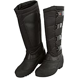 Botas térmicas para montar, Covalliero Classic, negras, negro, 43