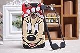 Disney Minnie Mickey Mouse Face iPhone/Samsung anteriore e posteriore piastra di copertura, Samsung Galaxy Note 3