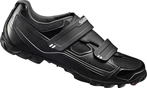 Shimano E-SHM065, Unisex-Erwachsene Radsportschuhe - Mountainbike, Schwarz (Black), 41 EU