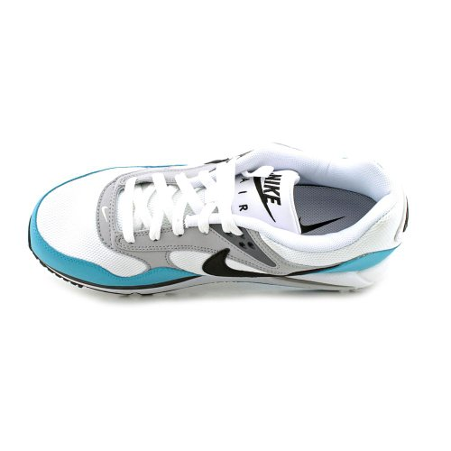 Nike Wmns Air Max Correlate, Scarpe sportive Donna Bianco (Blanco (White / Black-Turquoise Blue-Blk))