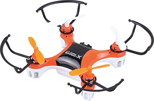 The Flyers Bay Nano Quadcopter with 360 Degree Axis Gyro Stabilization, Multi Color