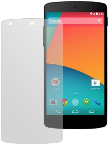 dipos I 2X Schutzfolie matt passend für LG Google Nexus 5 Folie Bildschirmschutzfolie