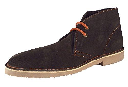 Roamer - Botas de Ante para Mujer marrón marrón, Color marrón, Talla 41.5