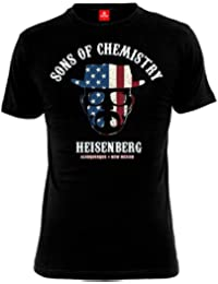 Breaking Bad - T-shirt Sons of Chemistry - Heisenberg - Noir