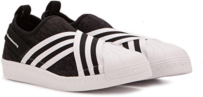adidas hommes blanc primeknit alpinisme alpinisme alpinisme superstar glisse sur base des chaussures noires nous blanc noir taille 10 ,5 18af40