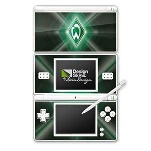 DeinDesign Skin kompatibel mit Nintendo DS Lite Folie Sticker SV Werder Bremen Offizielles Lizenzprodukt Wappen